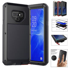 Samsung Galaxy Note 9/8 S9 S8 Heavy Duty Armor Metal Hard Shockproof Case Cover