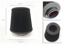 """Black 2.5 Inch 2.5"""" 63mm Cold Air Intake Cone Filter For Ford Focus Ranger Probe"""