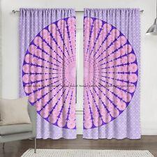 New Indian Circles Peacock Mandala Window Balcony Valances Curtain Drape Panel-2