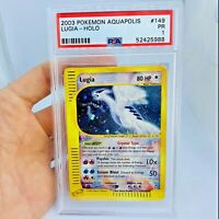 PSA 1 CRYSTAL LUGIA 149/147 Aquapolis Pokemon Card LOW POP only 12 in World