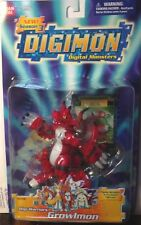 DIGIMON Digital Monsters Digi-Warrirors Growlmon