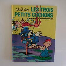 Les trois petits cochons Walt Disney Hachette 1976 France