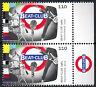 3503 postfrisch Paar senkrecht Rand rechts BRD Bund Deutschland Briefmarke 2019