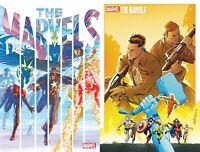 THE MARVELS 1 2020 Ross Main + Pacheco Variant Set Marvel Comics NM 6/24 PreSale