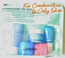 LANEIGE Hydration-To-Go! 5 Piece Set For Combination to Oily Skin NEW SEALED