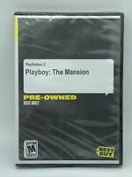 Rare Playboy the Mansion (Playstation 2, 2005) PS2 Video Game. Game Disc Only