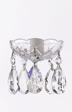 Asfour Crystal 30% Lead Crystal Bobache Lamp Chandelier Parts Set Of 25