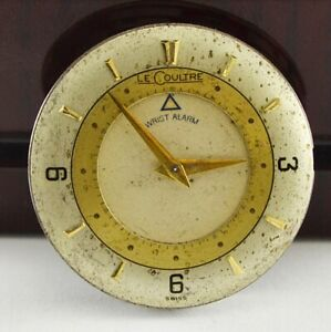 Le Coultre 814 cal. Movement and Dial 28.5 mm Spare Part Repairing