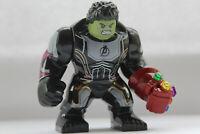 Marvel Super Heroes Incredibe Hulk Figure Avengers Infinity Gauntlet Fit lego