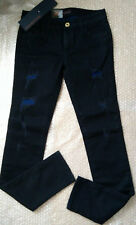 Trussardi Jeans women's Distressed Super Skinny jeans size 25 - Made in Italy