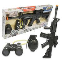 New Elite Combat Squad Gun & Accessories Play Set
