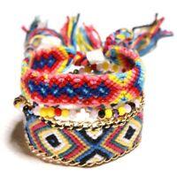 Handmade Friendship Woven Bracelets Multi Color Braided Bracelet Wrist Ankle