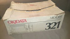 New in box OKIDATA MICROLINE 321 - rugged dot matrix printer OKI impact