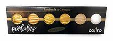 Coliro M600 Artist Mica Watercolor Paint Metallic Gold 6-Color/Set