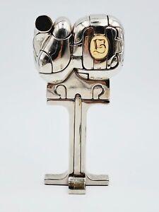 1969-70 Miguel Ortiz Berrocal Mini Cristina Sculpture Puzzle & Book 25 Elements