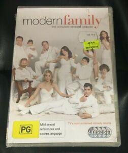 Modern Family : Season 2 (DVD, 2011, 4-Disc Set) Brand New Sealed In Plastic R4