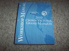 2010 Ford Crown Victoria Workshop Service Repair Manual Police Interceptor 4.6L