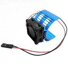 Aluminum Heatsink & Cooling Fan for 1:10 HSP RC Car 540 550 3650 brush Motor S