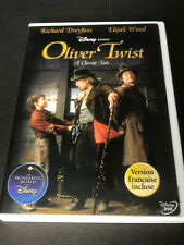 WALT DISNEY - OLVER TWIST    ( DVD )  RICHARD DREYFISS   ELIJAH WOOD