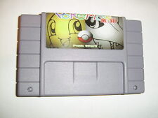 Pokemon Gold Silver for Nintendo SNES Super Famicom console Brazil - fun game!