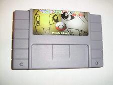 Pokemon Gold Silver for Nintendo SNES Super Famicom console Brazil - fun game!