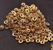 100PCS Tibetan Silver Spacer beads Flowers Bead Caps Findings 6MM 3081