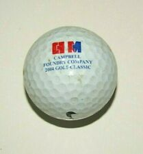 Vintage Campbell Foundry Company 2004 Golf Classic Nike Golf Ball