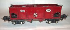 Lionel Prewar O Gauge 816 Blood Red Hopper Car! 1936-37! PA
