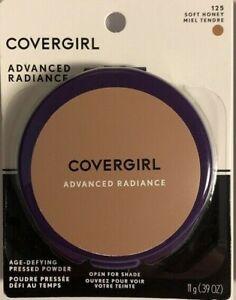 New Covergirl Advanced Radiance Age-Defying Pressed Powder Soft Honey 125