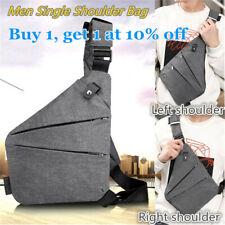 Waterproof Personal Cross body Shoulder Pocket BagS Men Chest Bag Business Gift
