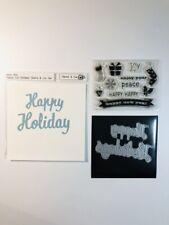 Hero Arts FANCY CUT HOLIDAYS Stamp & Cut Set, Stamps & Dies, Christmas