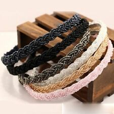 Hot Beautiful Chain Head Rhinestone Girl Fashion Bead Crystal Band Hair