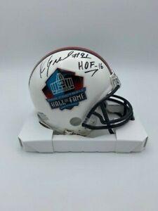 Kevin Greene Signed HOF Mini Helmet Steelers Mini Helmet COA Hologram HOF '16
