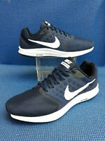 2016 Nike air DOWNSHIFTER 7 navy blue trainers....uk size 8