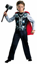 Thor 2 Avengers Child Boys Costume Jumpsuit Halloween Fancy Dress Up Disguise