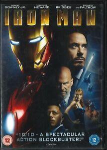 Iron Man (2008) Robery Downey Jr. Gwynth Paltrow, Terrence Howard, DVD
