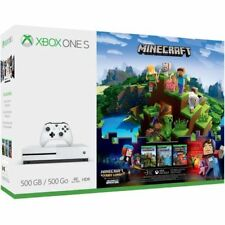 Microsoft Xbox One S Minecraft Complete Adventure Bundle (500GB)