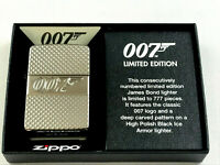 ZIPPO Limited 007 James Bond Feuerzeug lighter limitiert 777 Stk. - 60004015