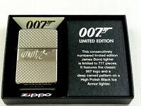 ZIPPO Limited 007 James Bond Feuerzeug lighter limitiert 777 Stk. - 60004015