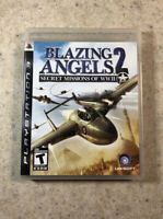 Blazing Angels 2: Secret Missions of WWII (Sony PlayStation 3 / PS3, 2007)
