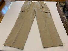 Genuine Big & Tall Dickies Loose Fit Cargo Work Pants, 40x32, Khaki (23214RKH)
