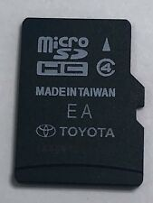 2014-2016 Toyota 86271-0E182A Navigation Micro SD Card Map Data OE182a OEM #53