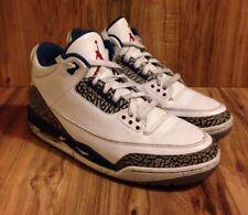 RARE?Nike Air Jordan III 3 Retro True Blue Size 10 136064 104
