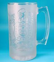 Omega Psi Phi Glass Beer Jar- Very exclusive piece. Sorority. Pre-owned. C3