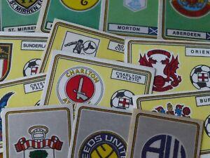 Panini Football 79 Team Badges