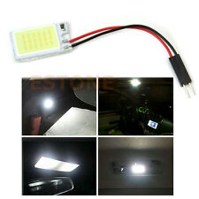 T10 BA9S 3W COB 16-LED White Interior Light Panel Festoon Dome Car Bulb Lamp