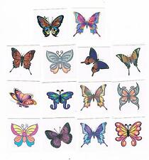 14 x Beautiful Butterfly Temporary Tattoos - Great Quality- safe 4 kids & adults
