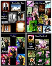 MaGiCaL FAiRyTaLe FANTASY DIGITAL PHOTOGRAPHY BACKGROUNDS KIT on 2 DVDs++ EXTRAS