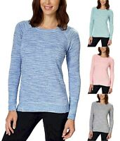 Women's Champion Lightweight High Low Hemline Crew Neck Long Sleeve Tee Variety