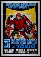 M188 Manifesto 2F 3 Supermen A Tokio George Martin Dick Gordon Willy Newton